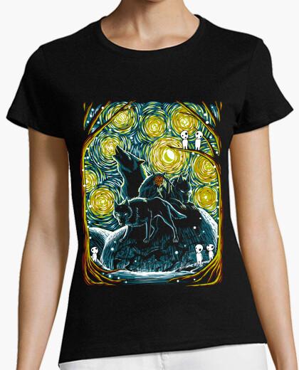 Tee-shirt Forêt étoilé