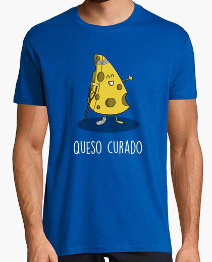 T-shirt formaggio a pasta dura