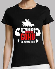 formazione per sconfiggere goku palestra (donna)