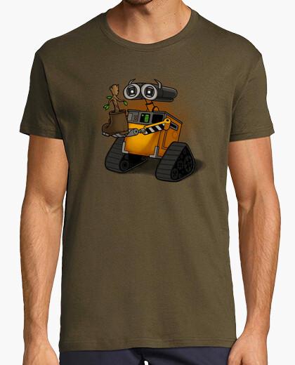 Tee-shirt formes de vie trouvées