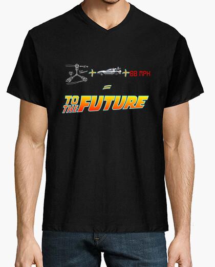 Camiseta Formula Back To The Future