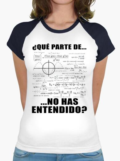 Camiseta Fórmula Matemática