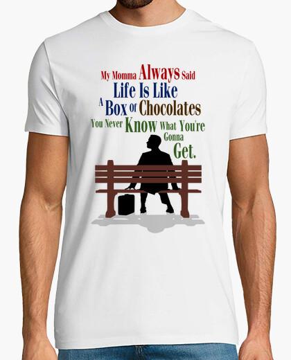 Tee-shirt Forrest Gump - Maman Disait Toujours...