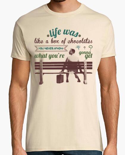 T-shirt forrest gump english
