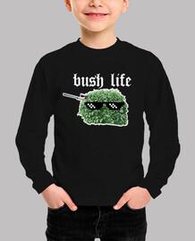 fortnite bush life child