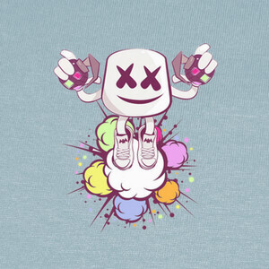 Camisetas Fortnite Marshmello