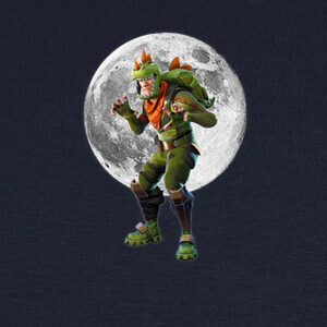 Camisetas Fortnite Tyranosaur Moon