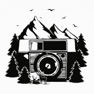 Tee-shirts foto de la montaña