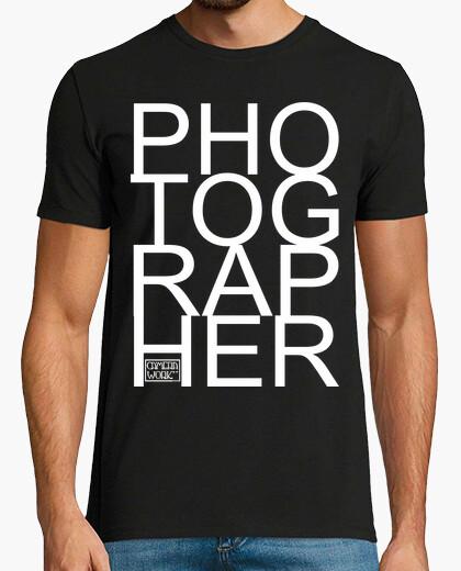 Camiseta Fotografo letras