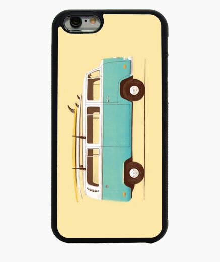 Coque Iphone 6 / 6S fourgon bleu