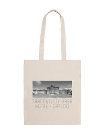 fourre-tout sac - sac arctique singes 100% coton tranquillité base de l'hôtel + casino