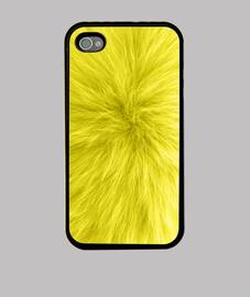 Fourrure jaune