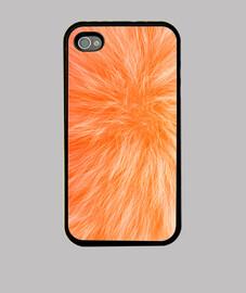 Fourrure orange
