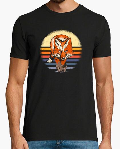 Camiseta Fox Forest Animal Gift Retro