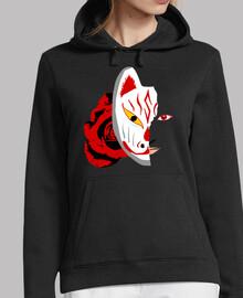 Fox God Mask - sudadera