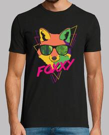 fox hipster camicia psichedelica per los amanti del los zorritos