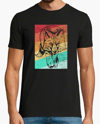 Camiseta Fox Retro Animal