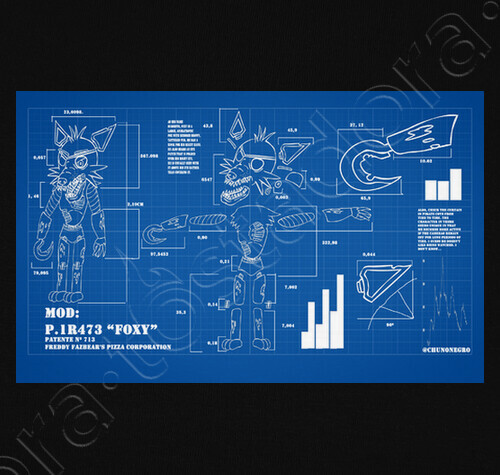 Foxy fnaf blueprint 2 t shirt 781025 the blueprint radio episode foxy fnaf blueprint 2 t shirt 781025 malvernweather Gallery