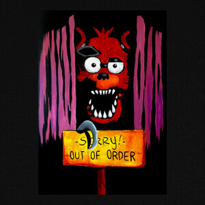 Camisetas Foxy FNAF Sorry! Out of Order
