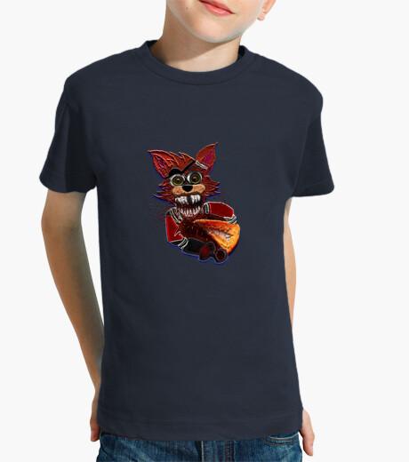 Ropa infantil Foxy loco por la pizza