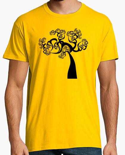 Camiseta Fractal Árbol