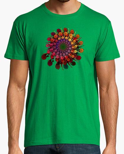 Camiseta Fractal Flor