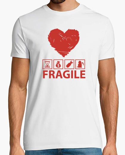 Tee-shirt fragil
