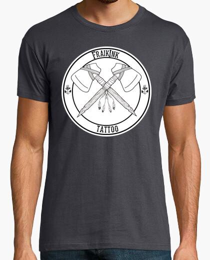 T-shirt fraikink uomo logo