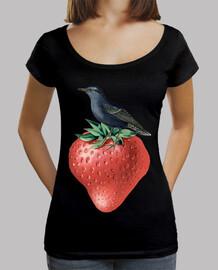 fraise oiseau