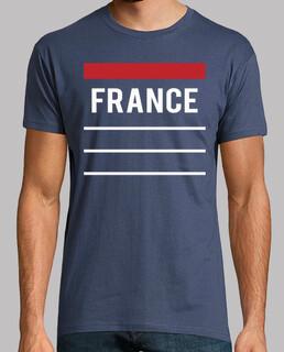 francia - azul