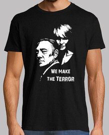 Frank y Claire Underwood - We Make The Terror (House of Cards)