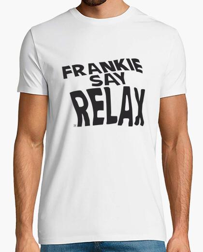 Frankie say relax camiseta hombre