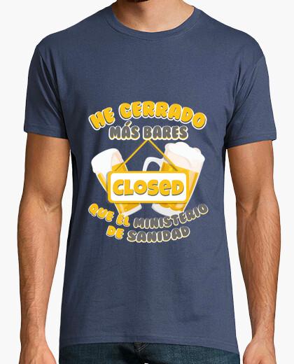 Camiseta Frase Cierra bares