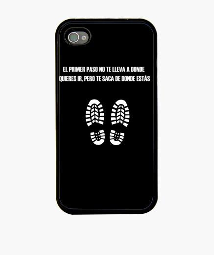 Funda iPhone Frase del primer paso