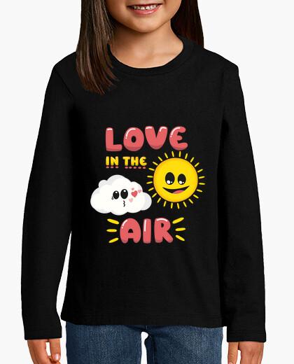 Ropa infantil Frase Love in the air