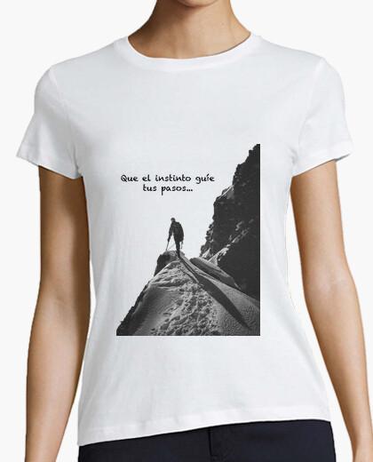 Camiseta Frase Mujer, manga corta, blanca, calidad premium