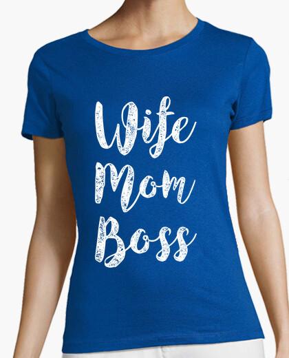 T-Shirt Frau Mutter Chef