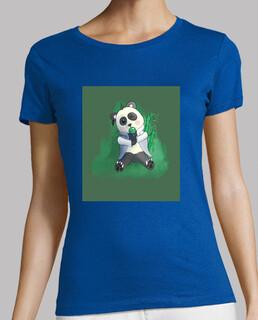 Frauen, T-Shirt, grün, Premiumqualität