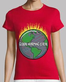 Frauen, T-Shirt, rot, Premiumqualität