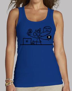 Frauen, Tank Top, rot