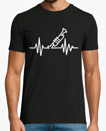 Camiseta frecuencia de trompeta