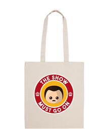 freddie bag show must go on