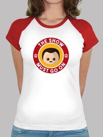 freddie show must go on baseball woman