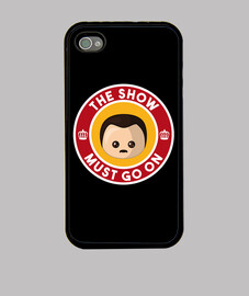 freddie show must go on couverture iphone 4 / 4s