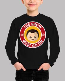 Freddie Show Must Go On Niño