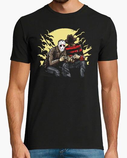 Tee-shirt Freddy et Jason Gamers