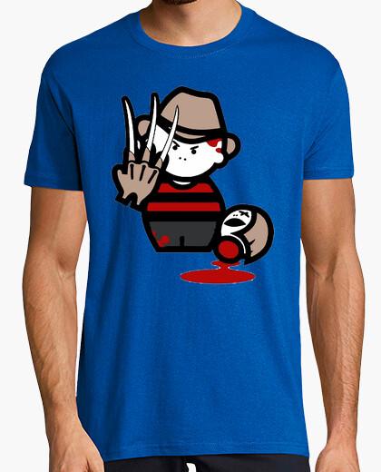 Fredy Kruger cine TV Terror horror parodia humor camisetas friki