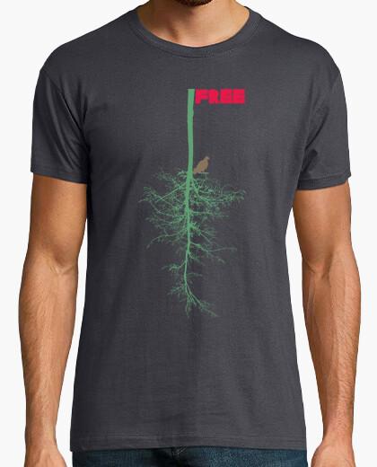 Camiseta Free. Alma libre