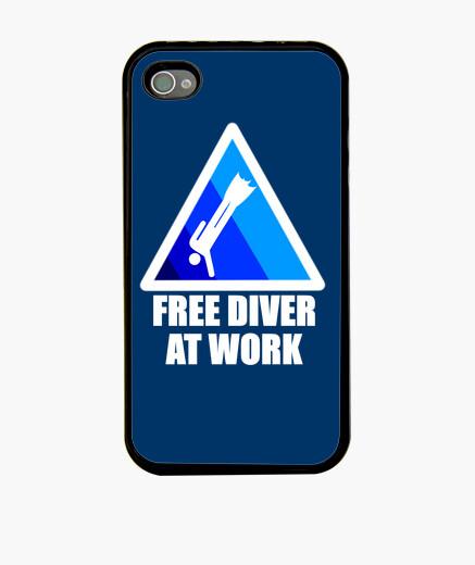 Funda iPhone Free diver at work