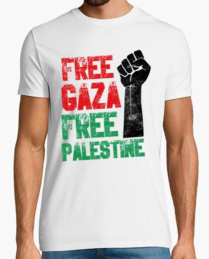Camiseta Free Gaza Free Palestina